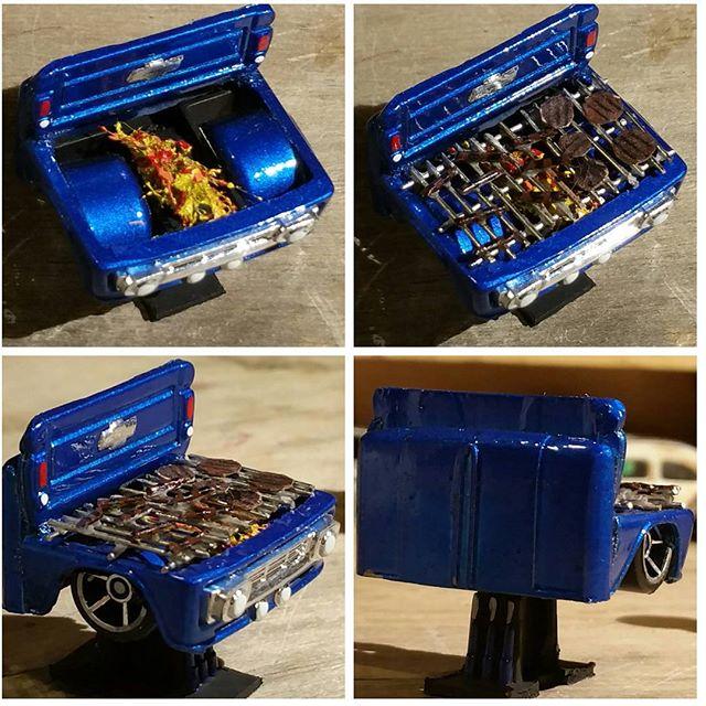 Layn720 custom bbq grill from grill