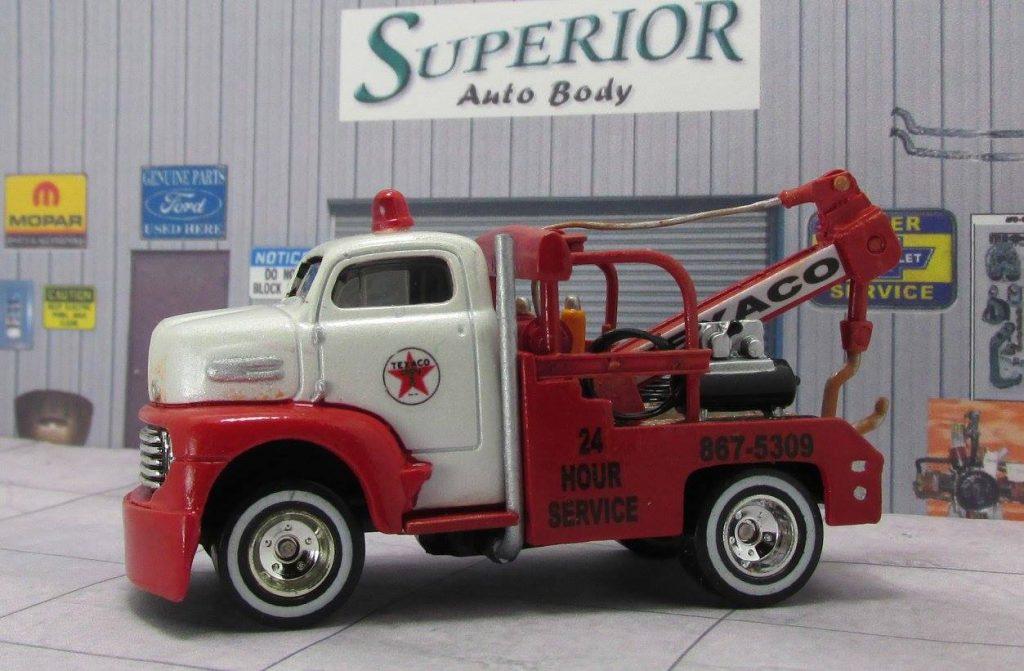 Lloyd Landy - Saints Fan Customs - Texaco Tow Truck 3