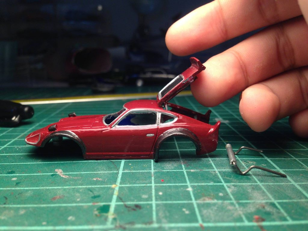 how to make opening doors for hotwheels 15