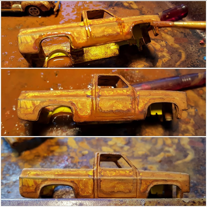 How To Rust Diecast Cars - Second Application