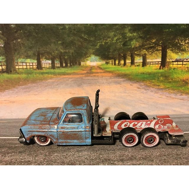 macustomizer - ford coca cola pickup 1