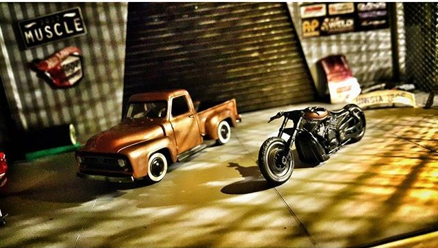 mangagarage - chevy and hog 2