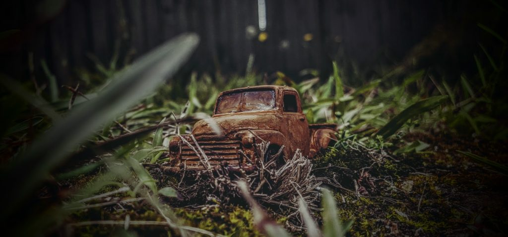 rusted 53 chevy pickup 9b