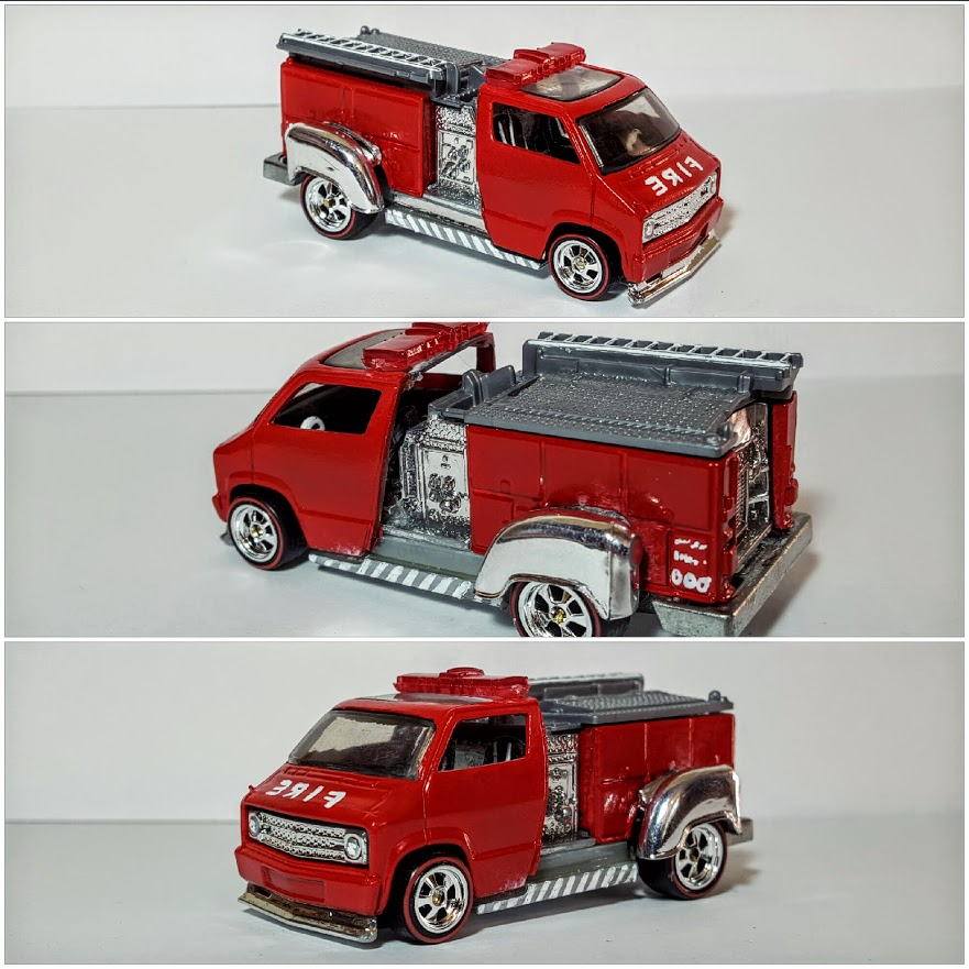 Dodge Van Firetruck collage 2
