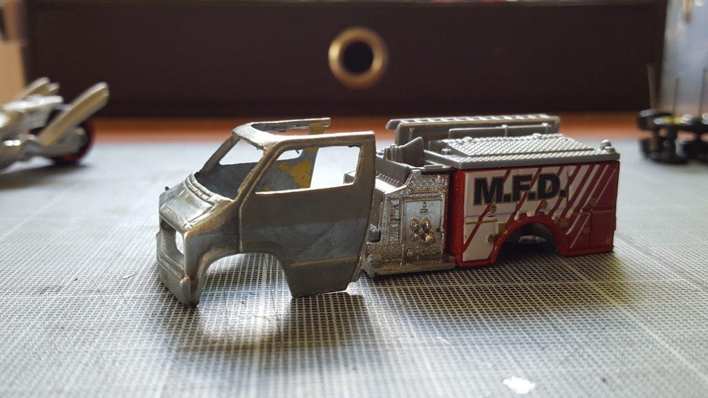 Dodge Van Firetruck initial concept