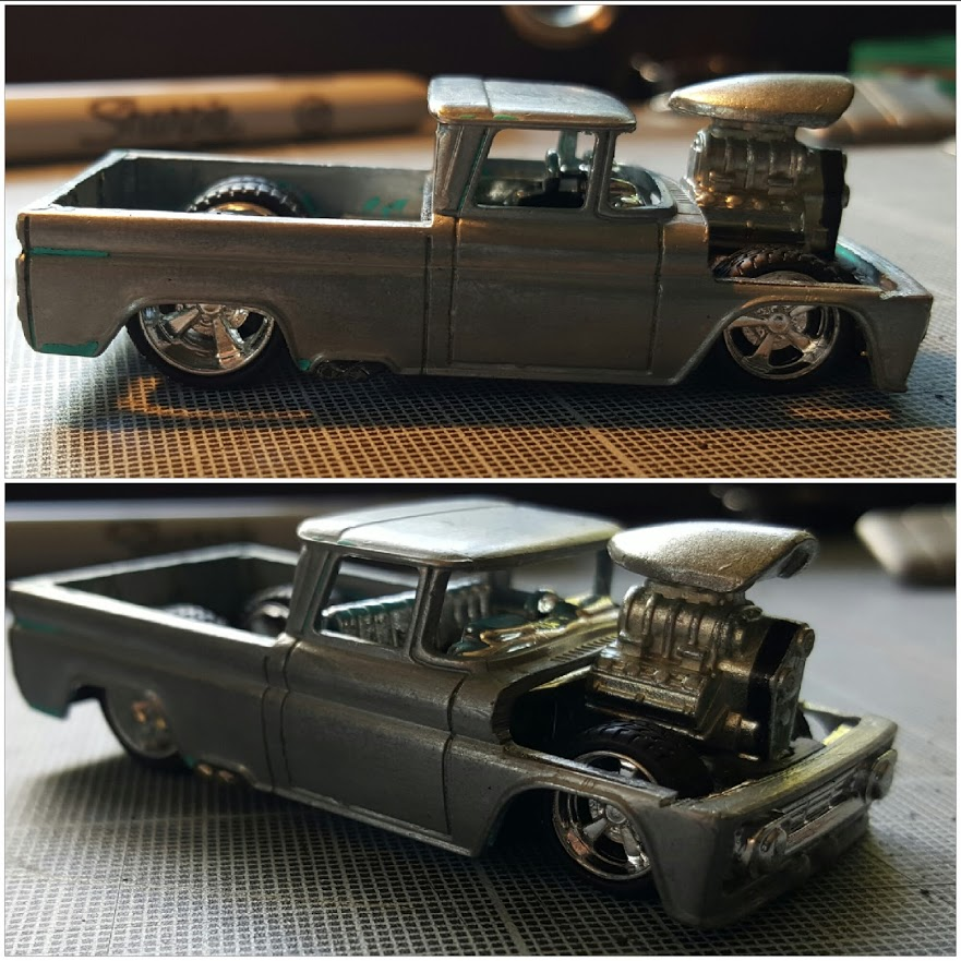 custom 62 chevy WIP