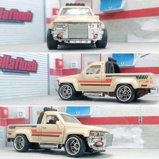 emdeeraycustoms hellaflush toyota hilux