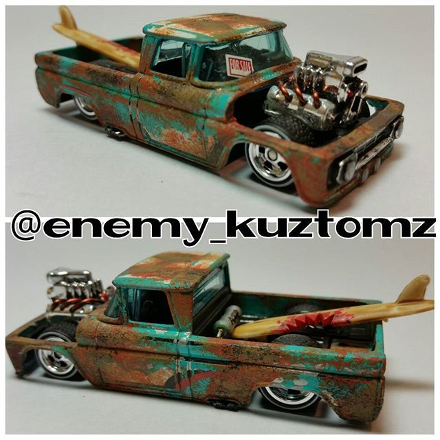 enemy_kuztomz shark bait chevy