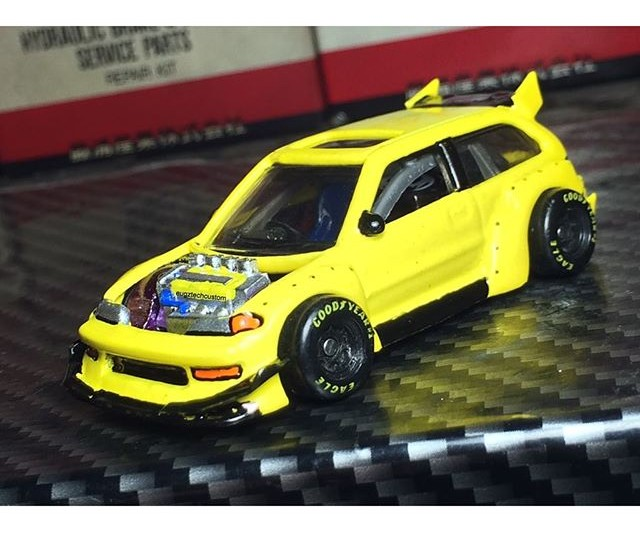 eugztechcustom rocket bunny drag civic 1