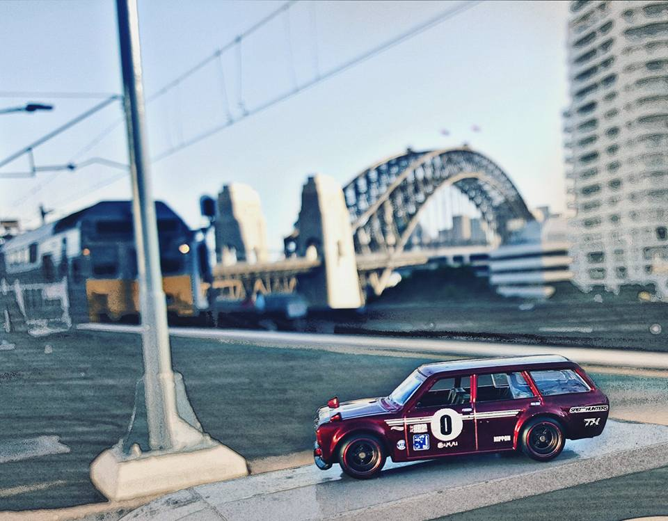 mycustomhotwheels - sydney action