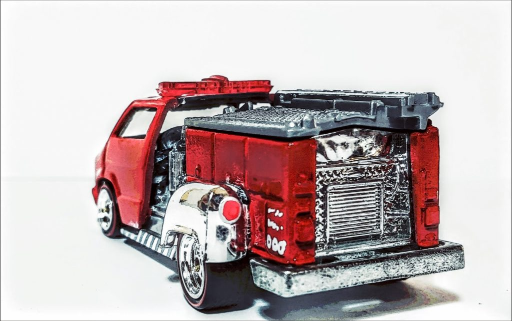 Custom Dodge Firetruck 1