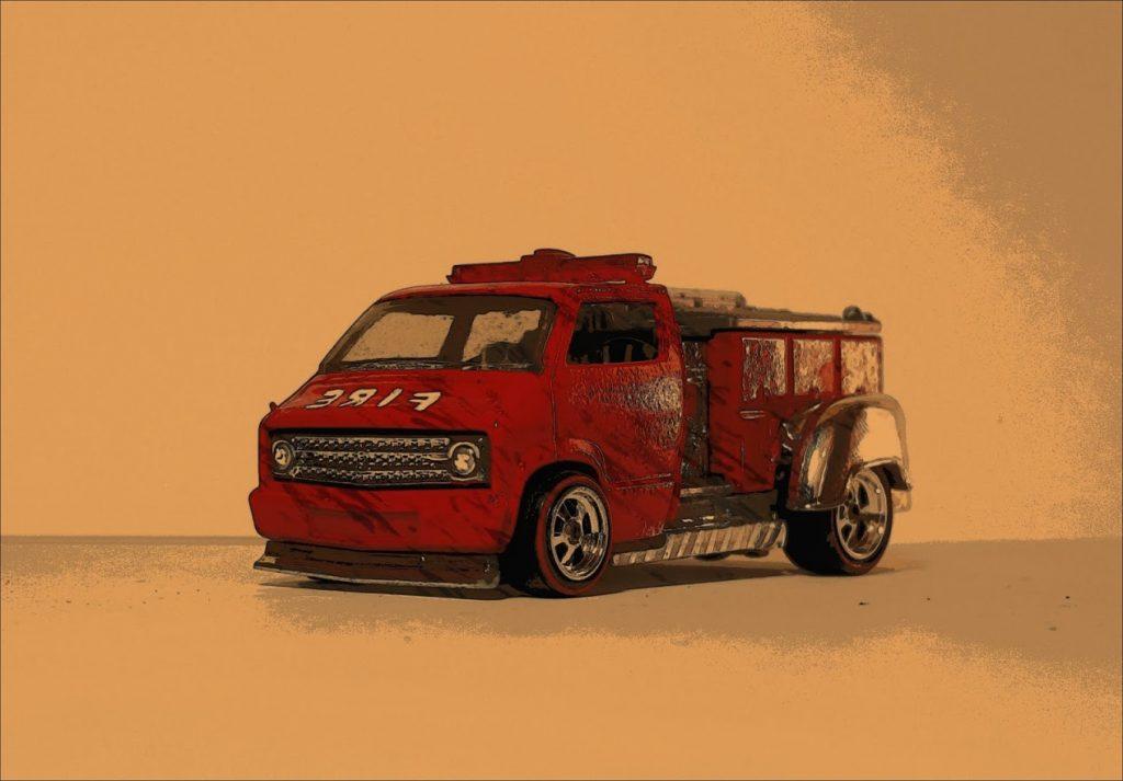 Custom Dodge Firetruck 4