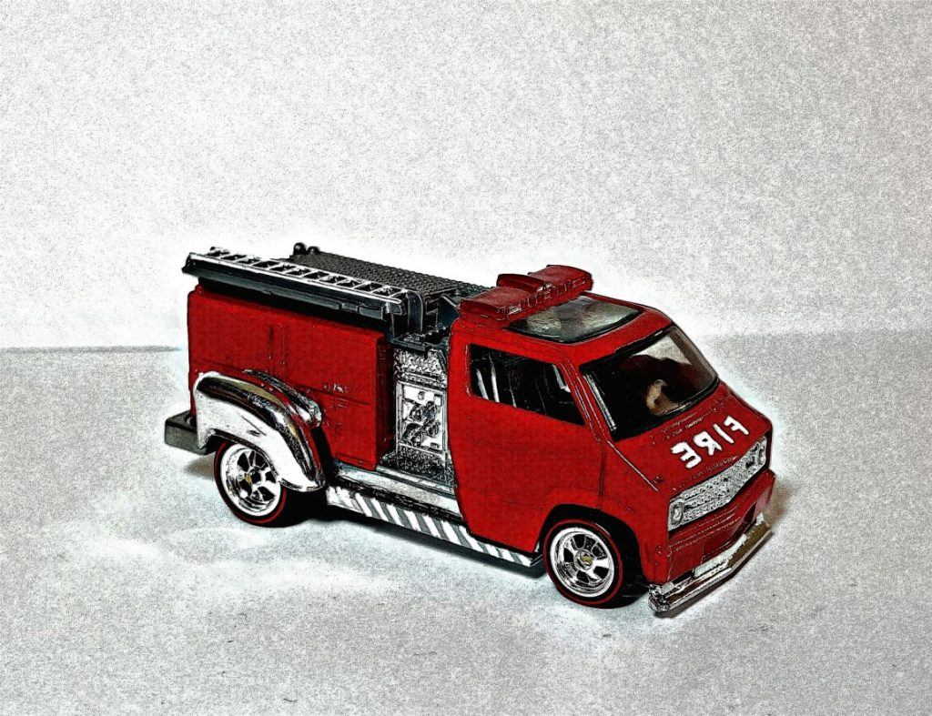 Custom Dodge Firetruck 7