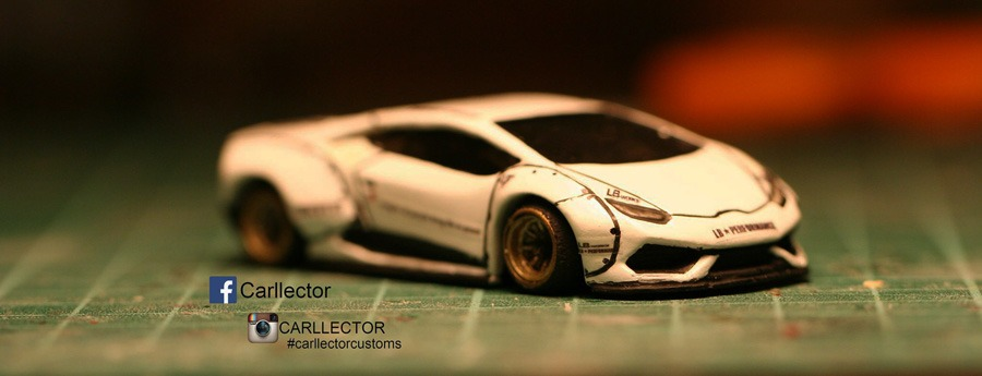 Custom Hot Wheels Liberty Walk Lamborghini Huracan by Carllector