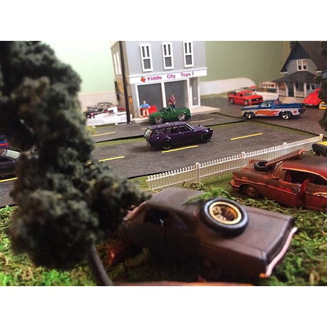 How to make Hot Wheels Junkyard Diorama