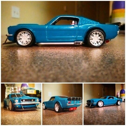 custom hot wheels by Justin Shubert