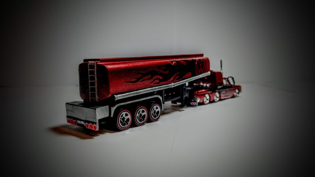 custom Hot Wheels VW Squareback petrol tanker Winning Entry