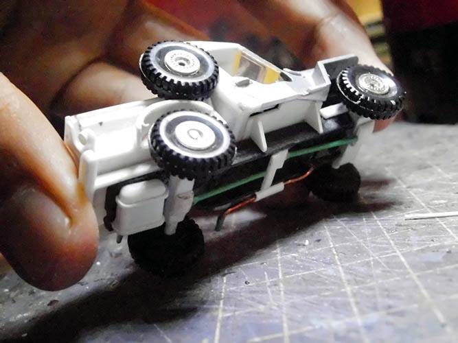 scratch built Hot Wheels parts by Hadi Rochmansyah Jeep 2