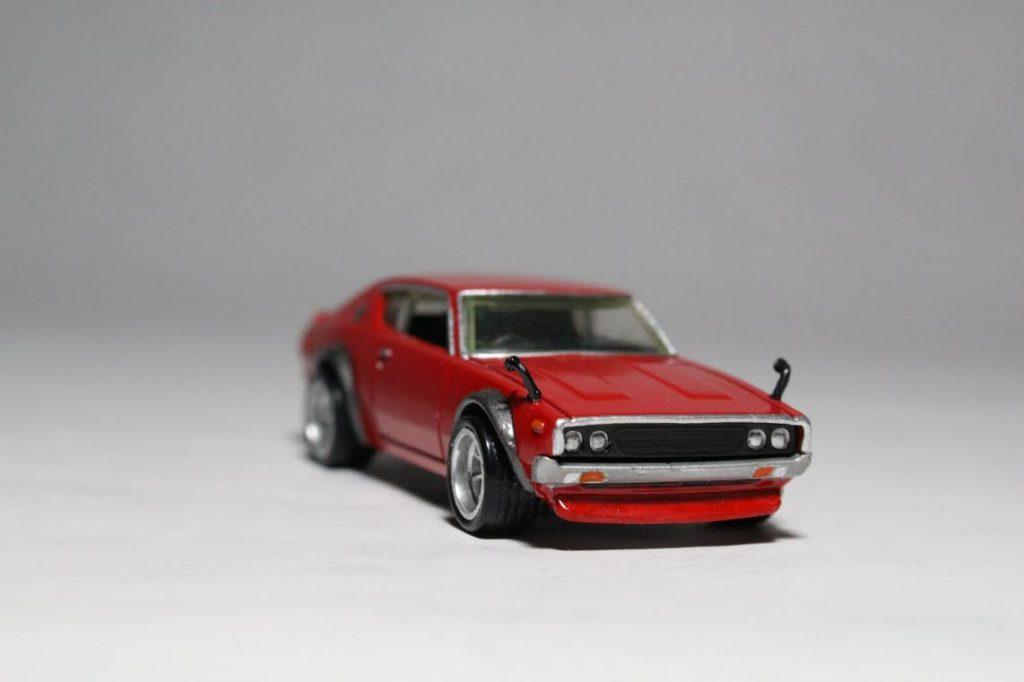 Hot Wheels Ken Meri Skyline with custom built wing mirrors