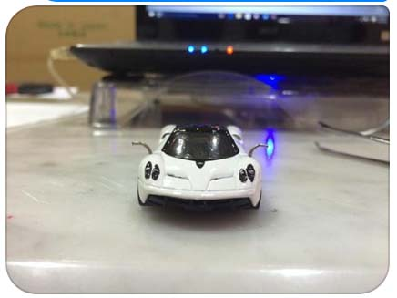 Rearview mirror 1:64 scale