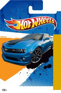 My Custom HotWheels card art Template