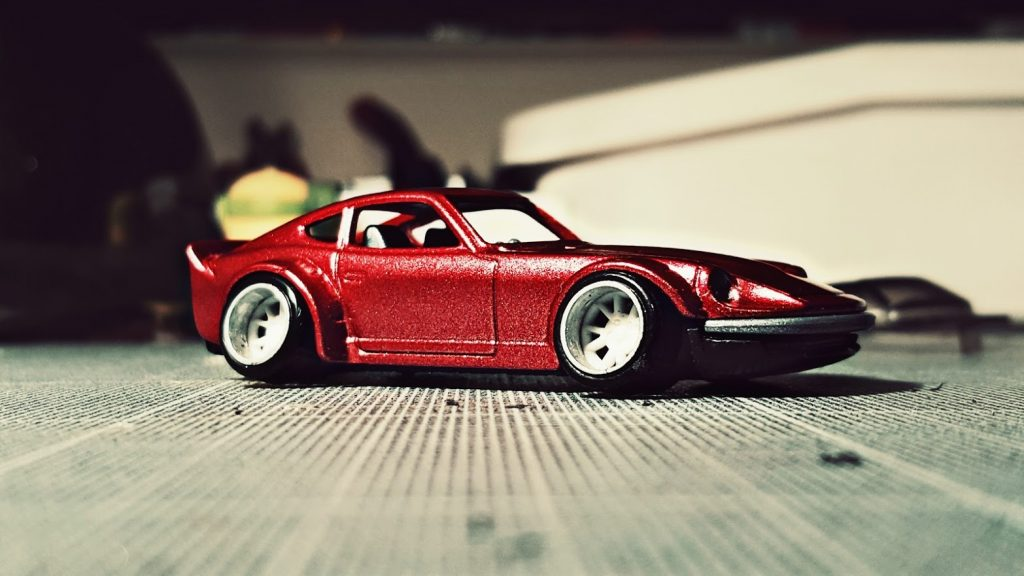 new deep dish wheels for the hot wheels fairlady Z