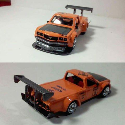 Pedro Gonzalez Mazda RX3 pickup