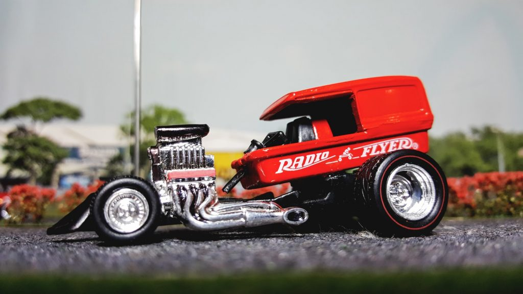 Radio Flyer Wagon Custom Hot Wheels