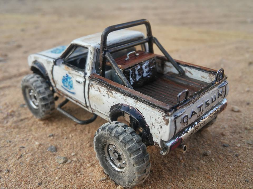 My Custom Hot Wheels tribute datsun 620 off road