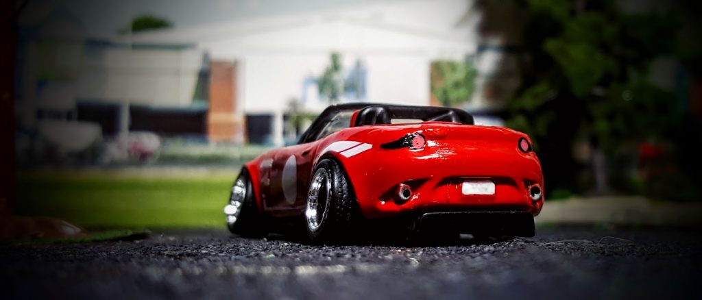 stanced mazda miata mx5 custom hot wheels car