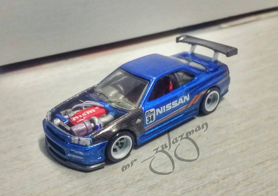 Zul Azman Scratch built RB26 GTR34