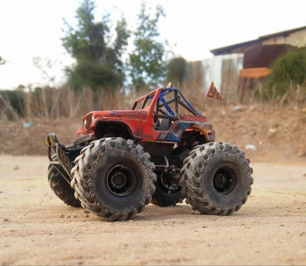scratch build adjustable suspension for custom hot wheels cars