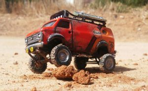 scratch build adjustable suspension for custom hot wheels cars
