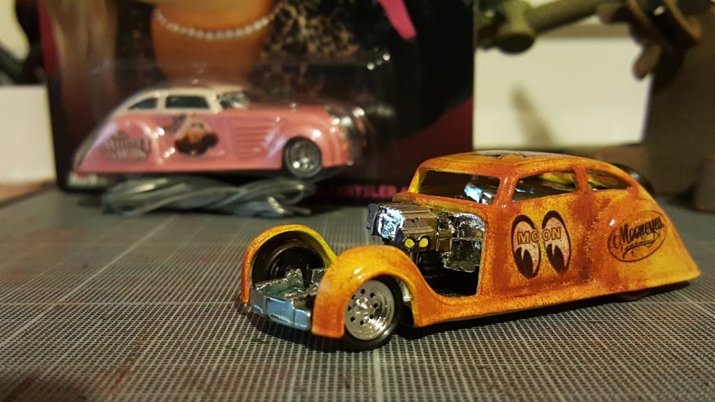 Custom Hot wheels Chrysler Air Flow Mooneyes