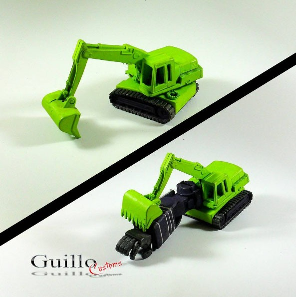 Hot Wheels Diecast Transformers by Guillo Customs
