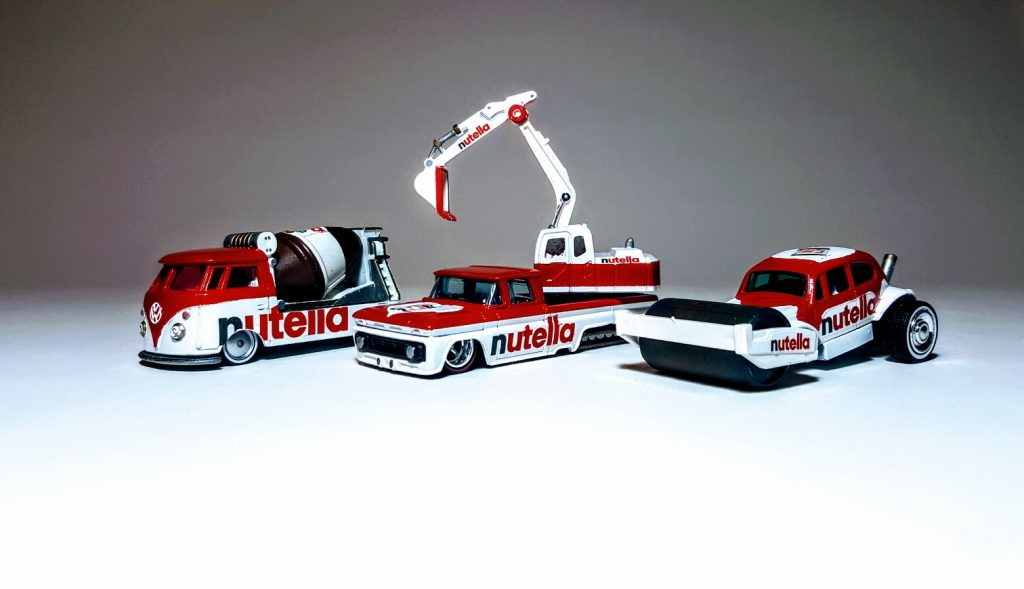 3 Vehicle Nutella Construction Set 1