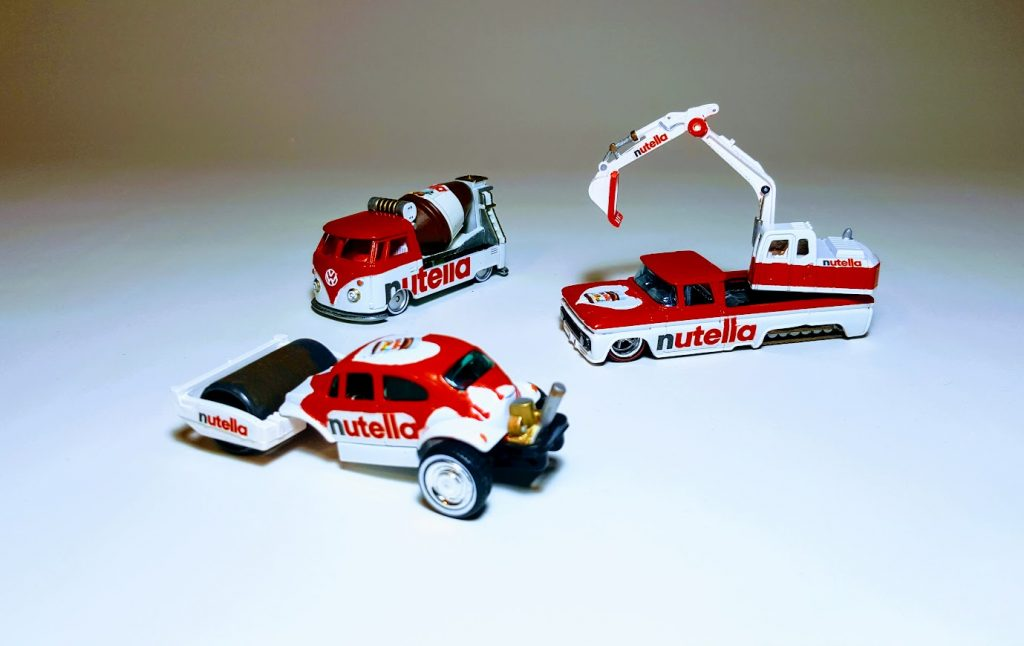 3 Vehicle Nutella Construction Set 2