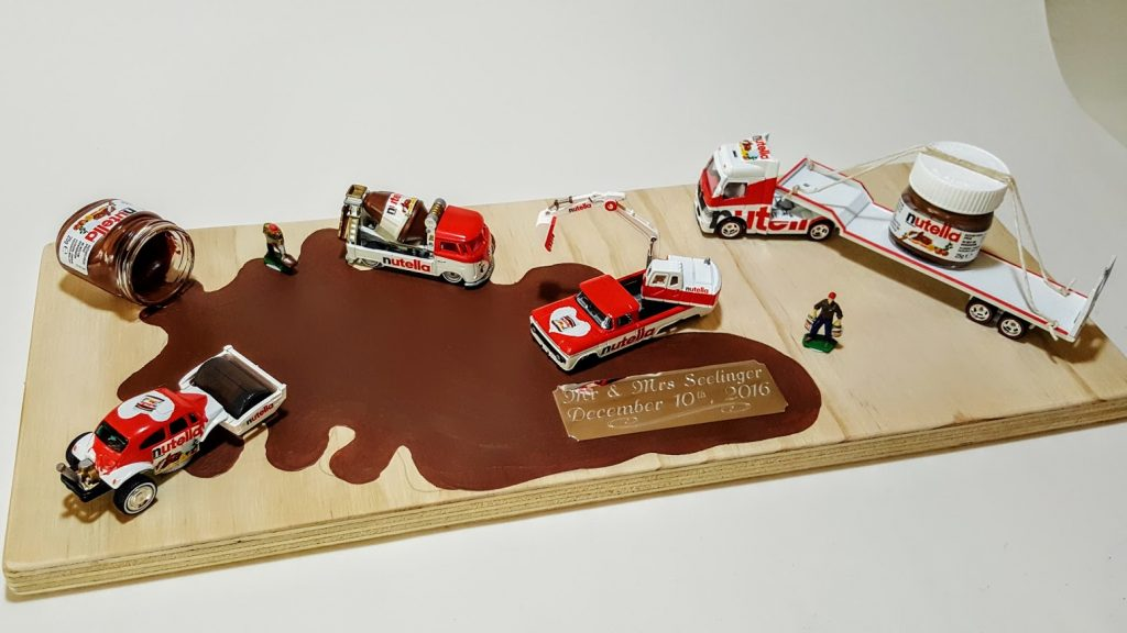 Nutella Custom Hot Wheels Wedding Set 1