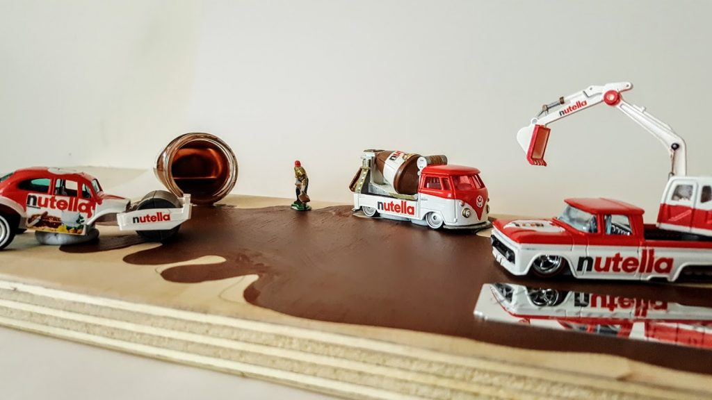 Nutella Custom Hot Wheels Wedding Set 4