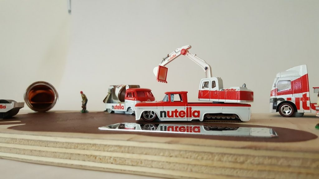 Nutella Custom Hot Wheels Wedding Set 5