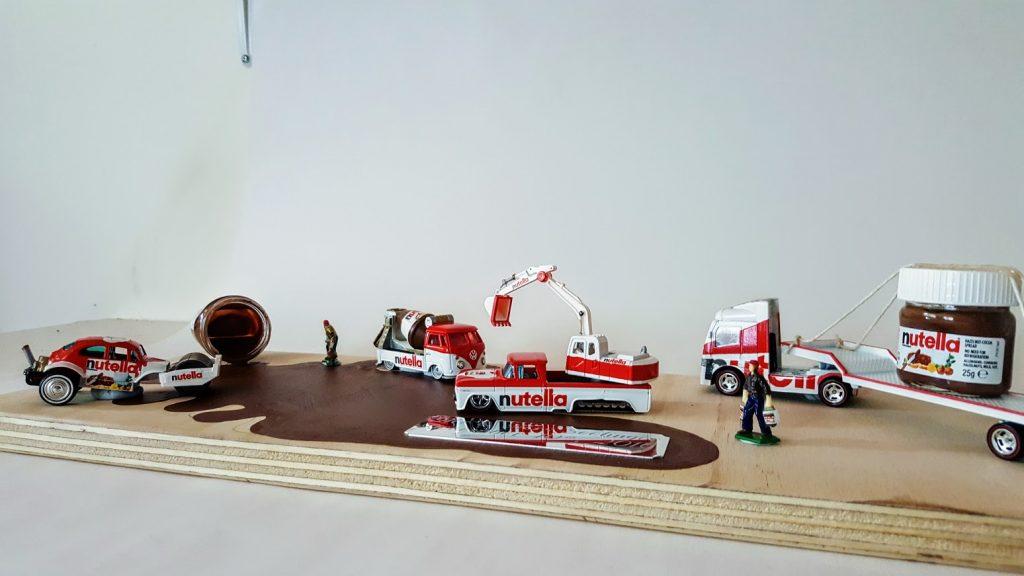 Nutella Custom Hot Wheels Wedding Set 6