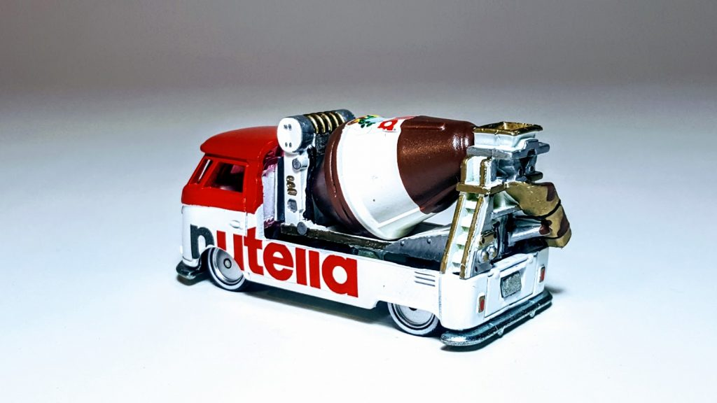 Nutella custom hot wheels wedding gift