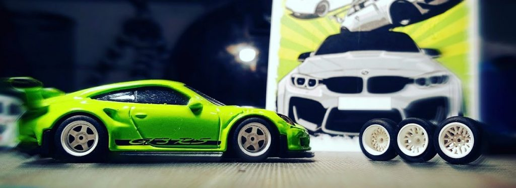 Custom Deep dish JDM and EURO wheels for Hot Wheels