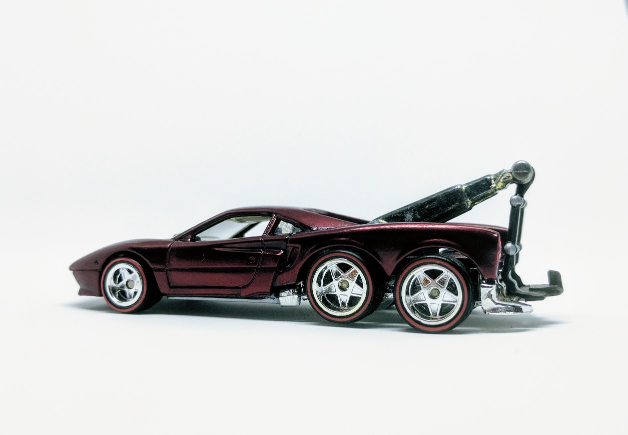 Ferrari Tow Eighty Eight Gtow Truck My Custom Hot Wheels