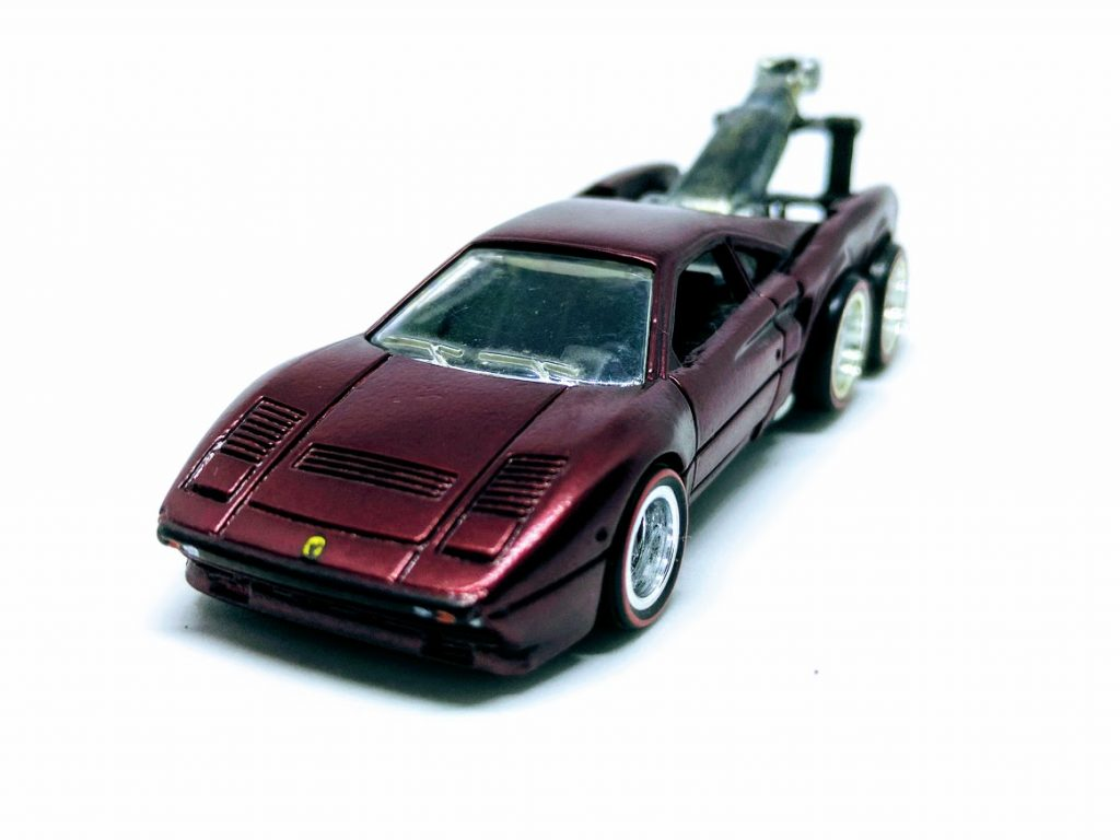 Ferrari 288 GTO and Tow Jam Custom Hot Wheels