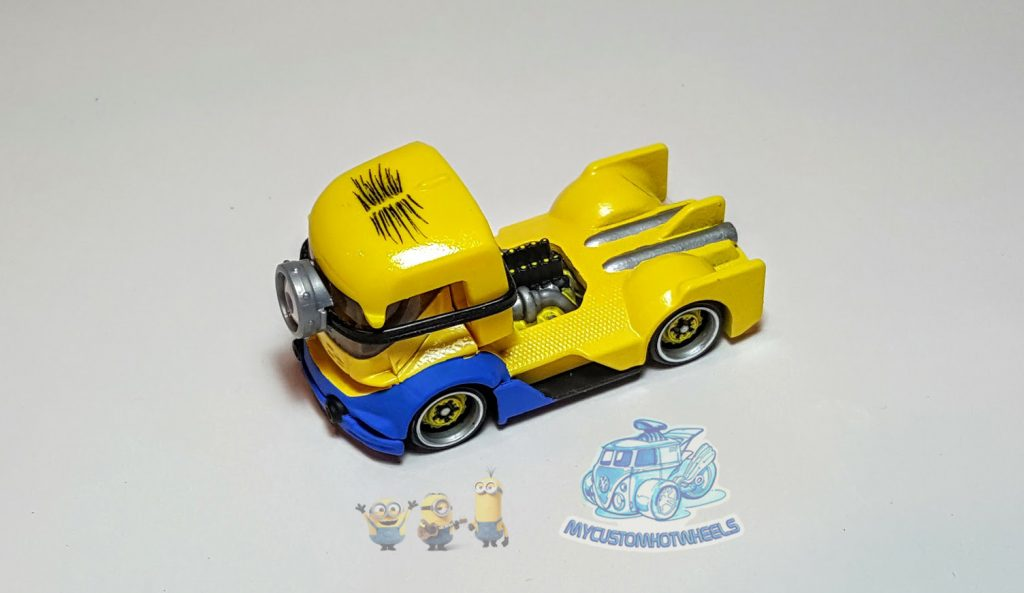 My Custom Hotwheels Minion Car - Minion Motorsports