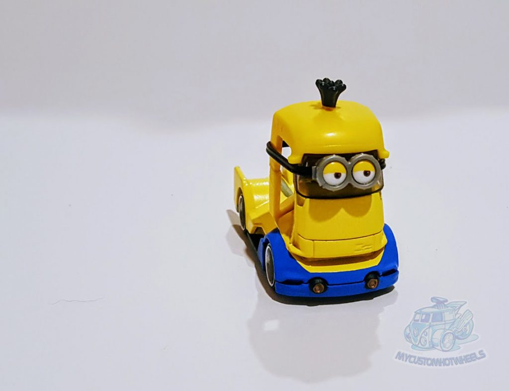 My Custom Hotwheels Minion Car - Minion Kevin