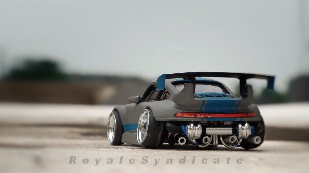 Royale Syndicate Custom Hot Wheels Portfolio - Porsche GT2