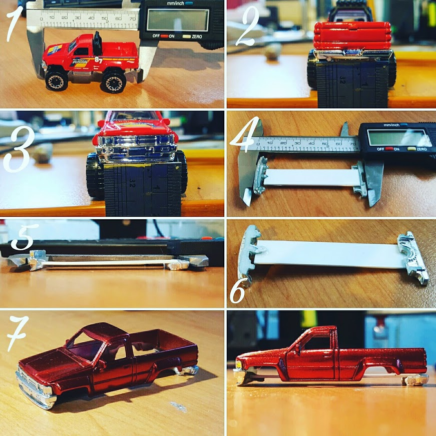 how to make a new base for your custom Hot Wheels
