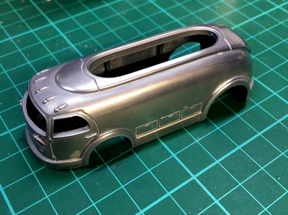 glass like finish on diecast cars - a painting guide by Blair